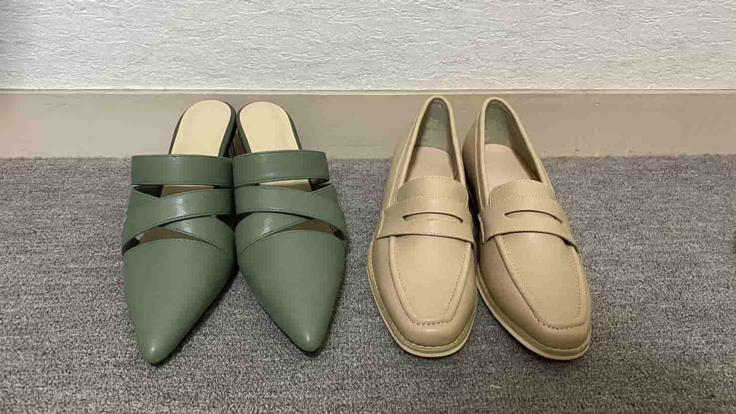 【お気に入りの靴】春夏にぴったり!ミュールとローファーを紹介_1