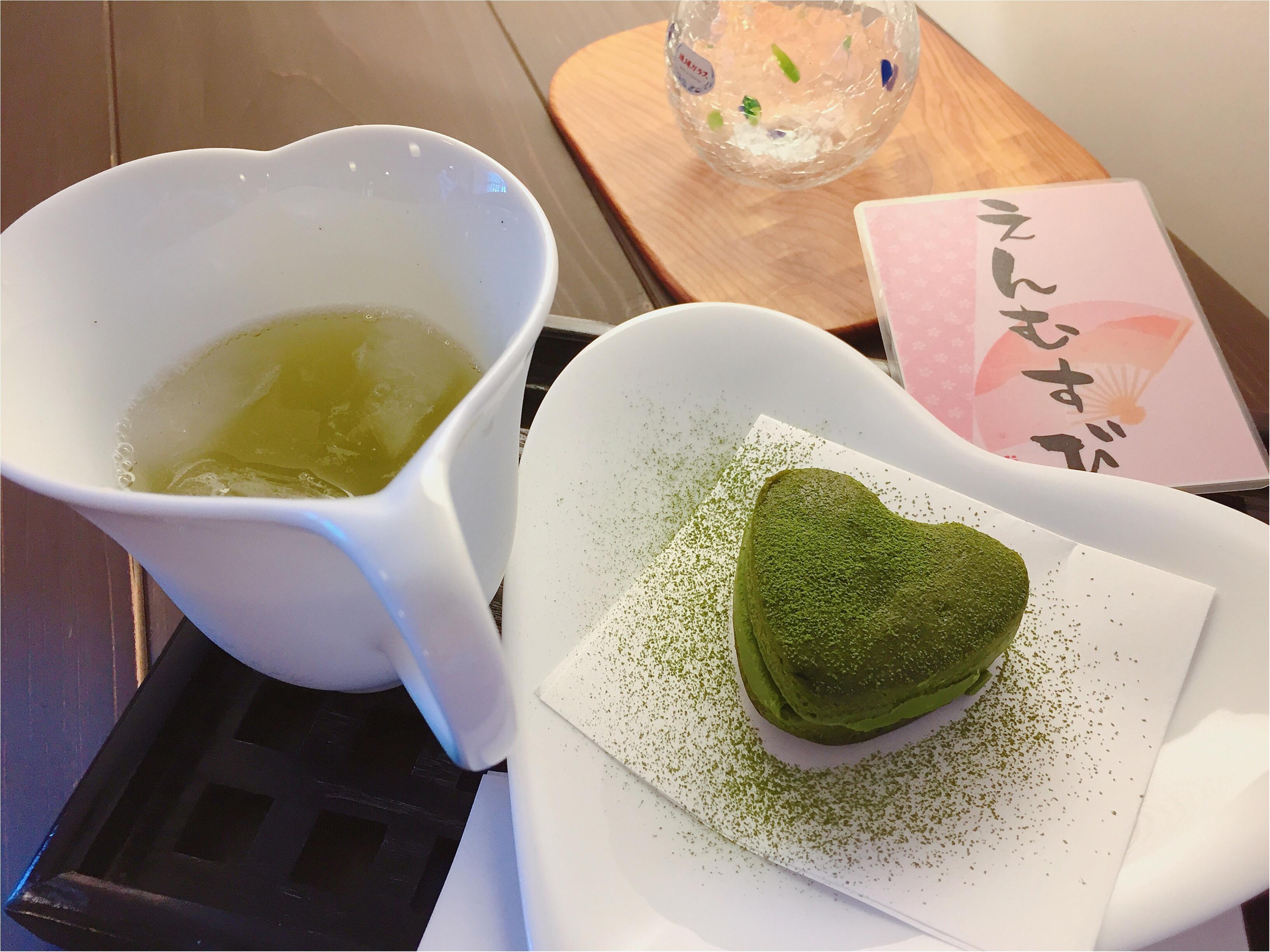 【縁結びスイーツ】川越さんぽの休憩は香ばしいお茶の香りにひかれて_3