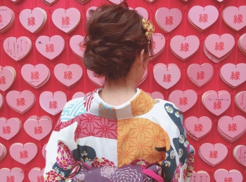 【名古屋】《レンタル着物で》三光稲荷神社ぶらり旅