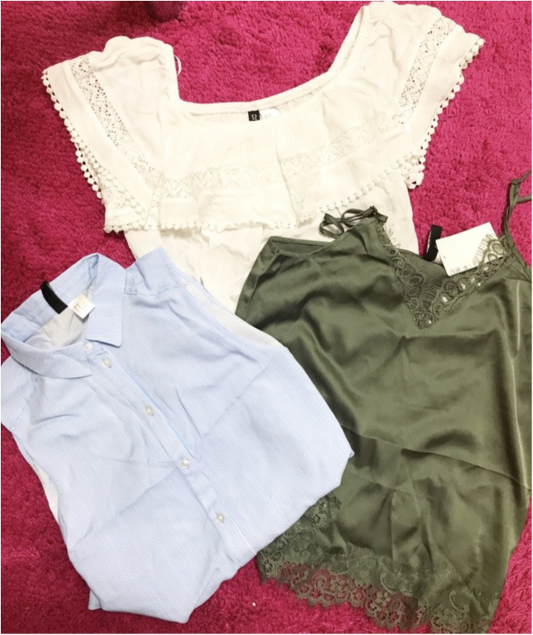 【Shoping】Total 1600yen★ON服もOFF服も!激安♥H&M戦利品_1