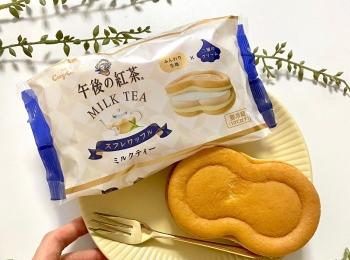 「スフレワッフル(午後の紅茶 ミルクティー)」が悶絶級のおいしさ! 銀座コージーコーナーが神コラボ