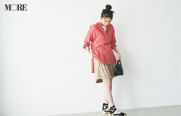 お手入れ簡単なシャツ&ブラウス7選! 『ユニクロ』の洗えるプリーツ、全部着てみた♪【今週のファッション人気ランキング】_3