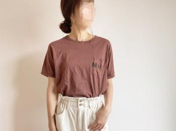 【夏コーデ】トレンド!ブラウンTシャツが可愛すぎる!