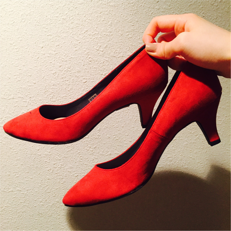 【春のきれい色】パステルカラーも素敵だけど、あえての赤!_1