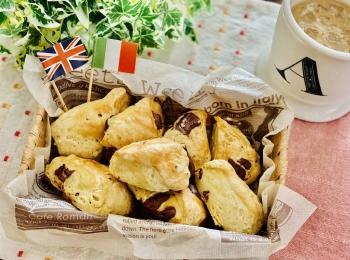 【おうちカフェ】超簡単なのに絶品★ホットケーキミックスでつくる人気レシピを実践♡-チョコチャンクスコーン-
