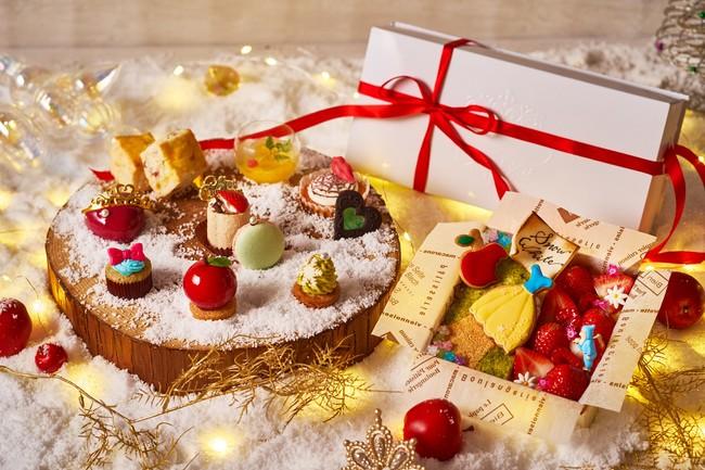 おうちでのクリスマスにおすすめな『VINO BUONO』の「スペシャルアフタヌーンティー – Snow White and Witch Christmas Tea Time -」