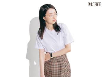【今日のコーデ】<逢沢りな>夏にマストの白Tシャツは主役級スカートで女っぽく、が気分♡