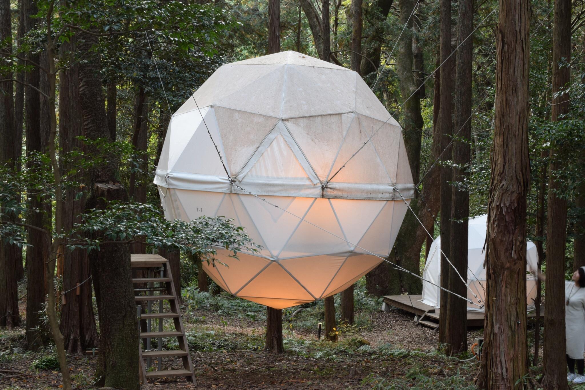 【女子旅におすすめ】森に浮かぶテントに泊まれちゃう♡《INN THE PARK》@沼津_3
