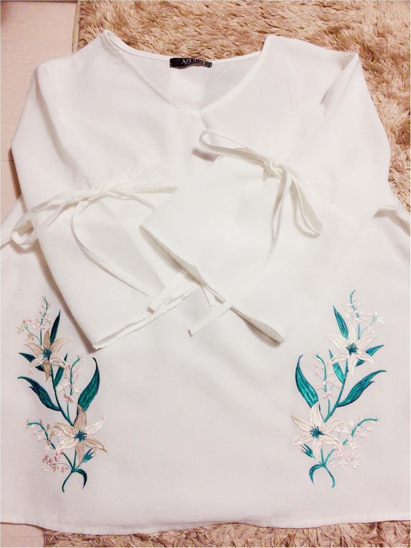 ♡【しまむらパトロール】この春トレンドの刺繍ブラウスが驚きの価格!!トレンドアイテムはしまむらでGetしちゃいましょう♡_1