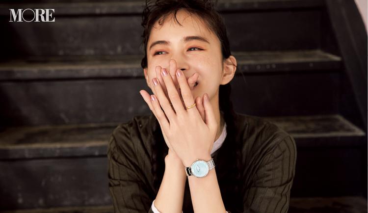 ティファニーの時計をした井桁弘恵