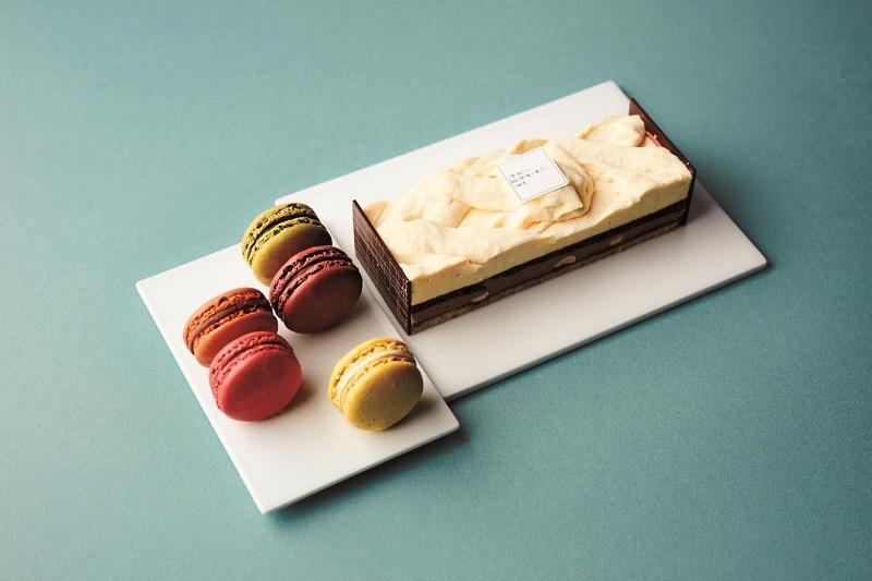 おすすめ冷凍ケーキ『パティスリー・サダハル・アオキ・パリ』の「冷凍 ヴァランシア&マカロン 5P」