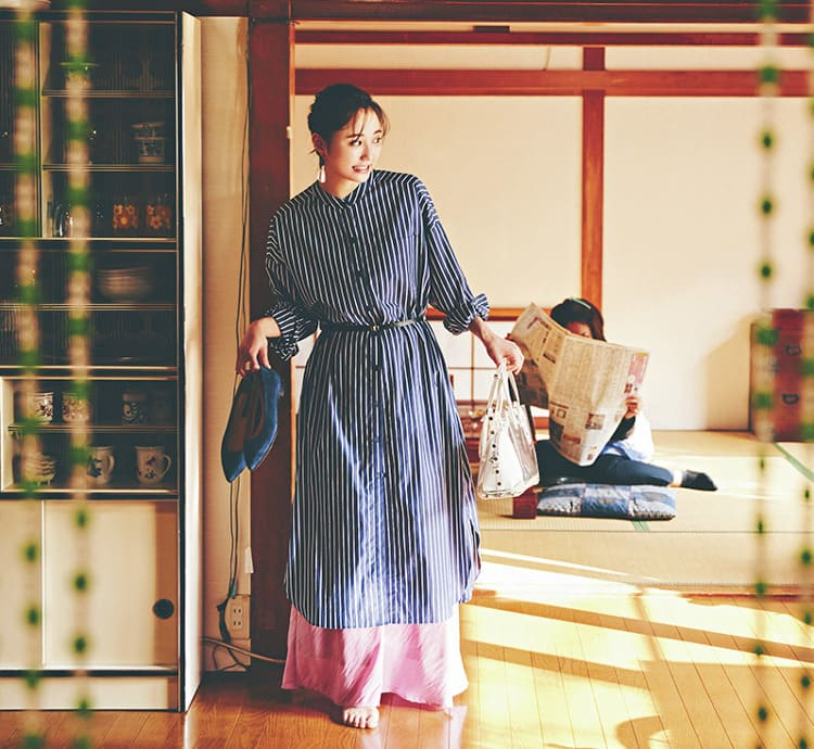 シャツワンピースの着こなし術【2020春】- 今年イチオシの色・形は? とびきり今っぽくておしゃれな最新ファッションまとめ_17