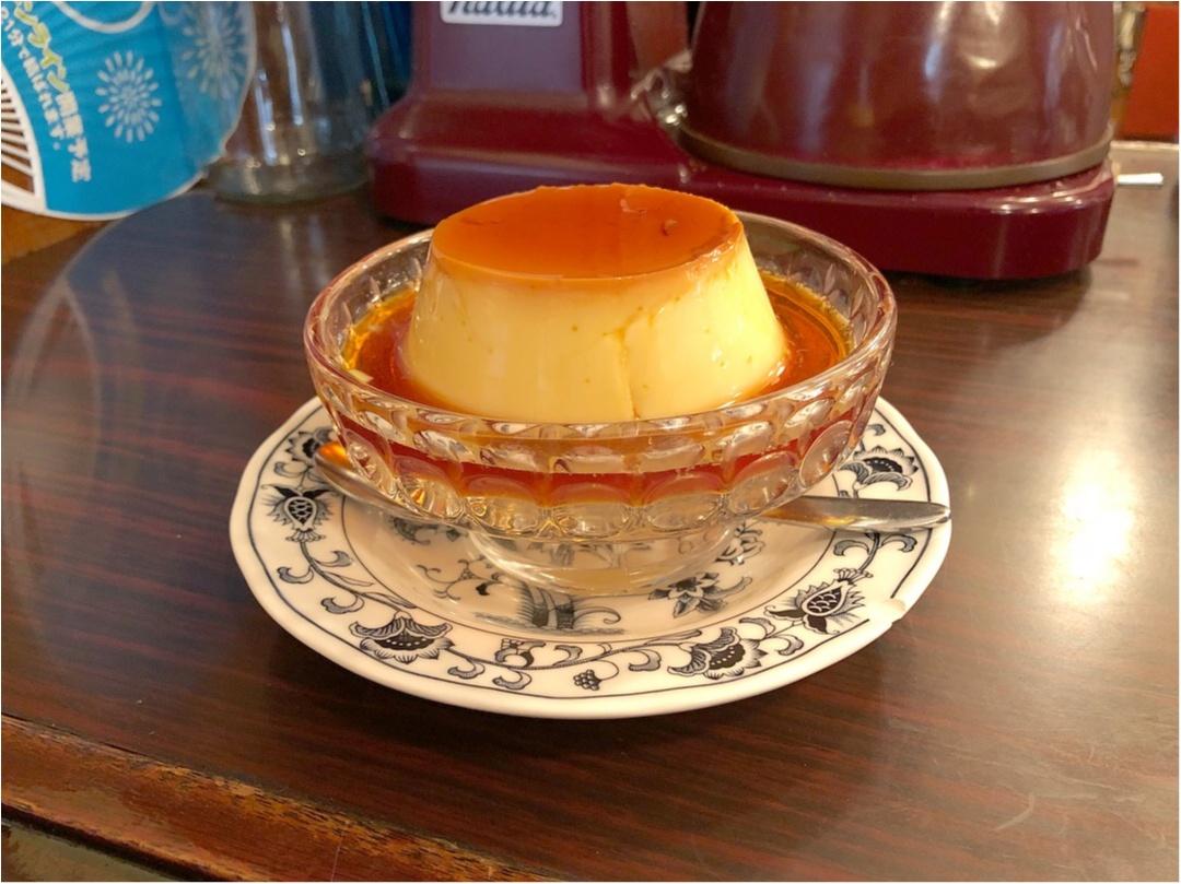 《 東京 》レトロな喫茶店『 ヘッケルン 』で頂く、昔ながらのビッグプリンが絶品♡♡_2