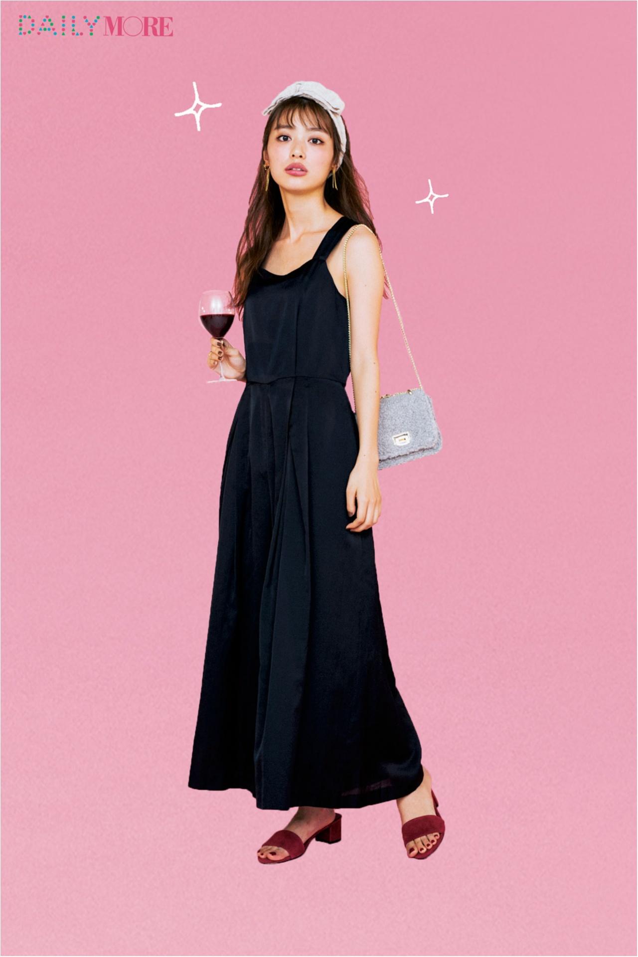 モデルは内田理央! 「普段の自分を2割増しに見せてくれる」女子会服、教えます!【オールインワン・ニットアップ編】_1
