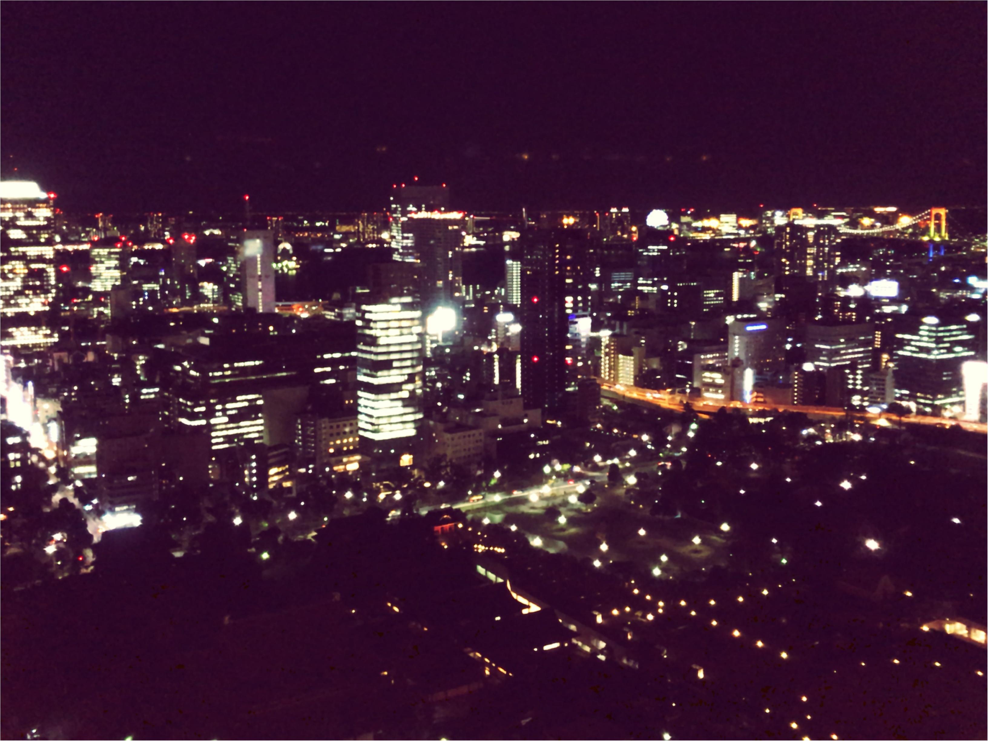東京散歩~東京タワーのプロジェクションマッピング_7
