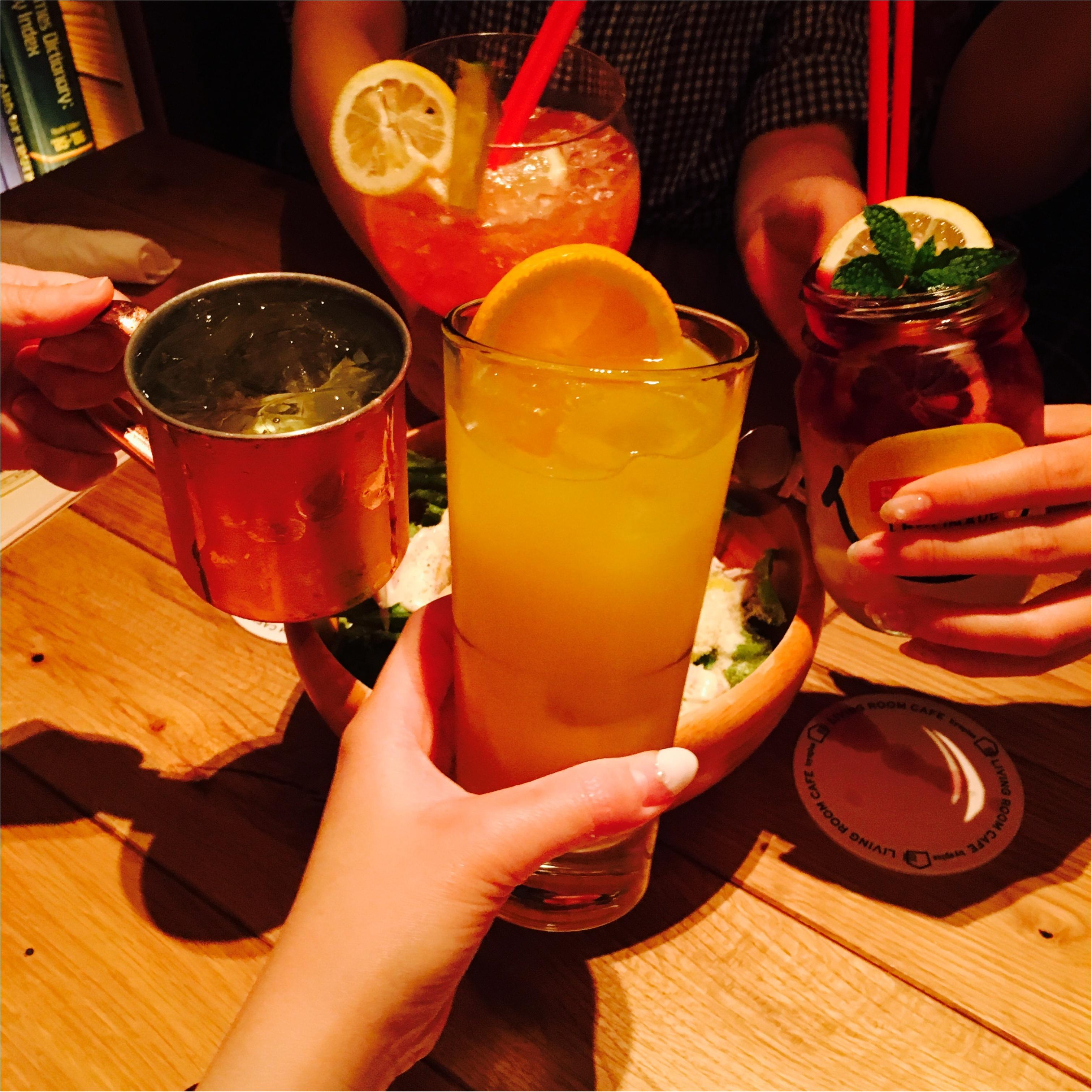 渋谷のオシャレカフェ♡LIVING ROOM CAFEで女子会!♡_2