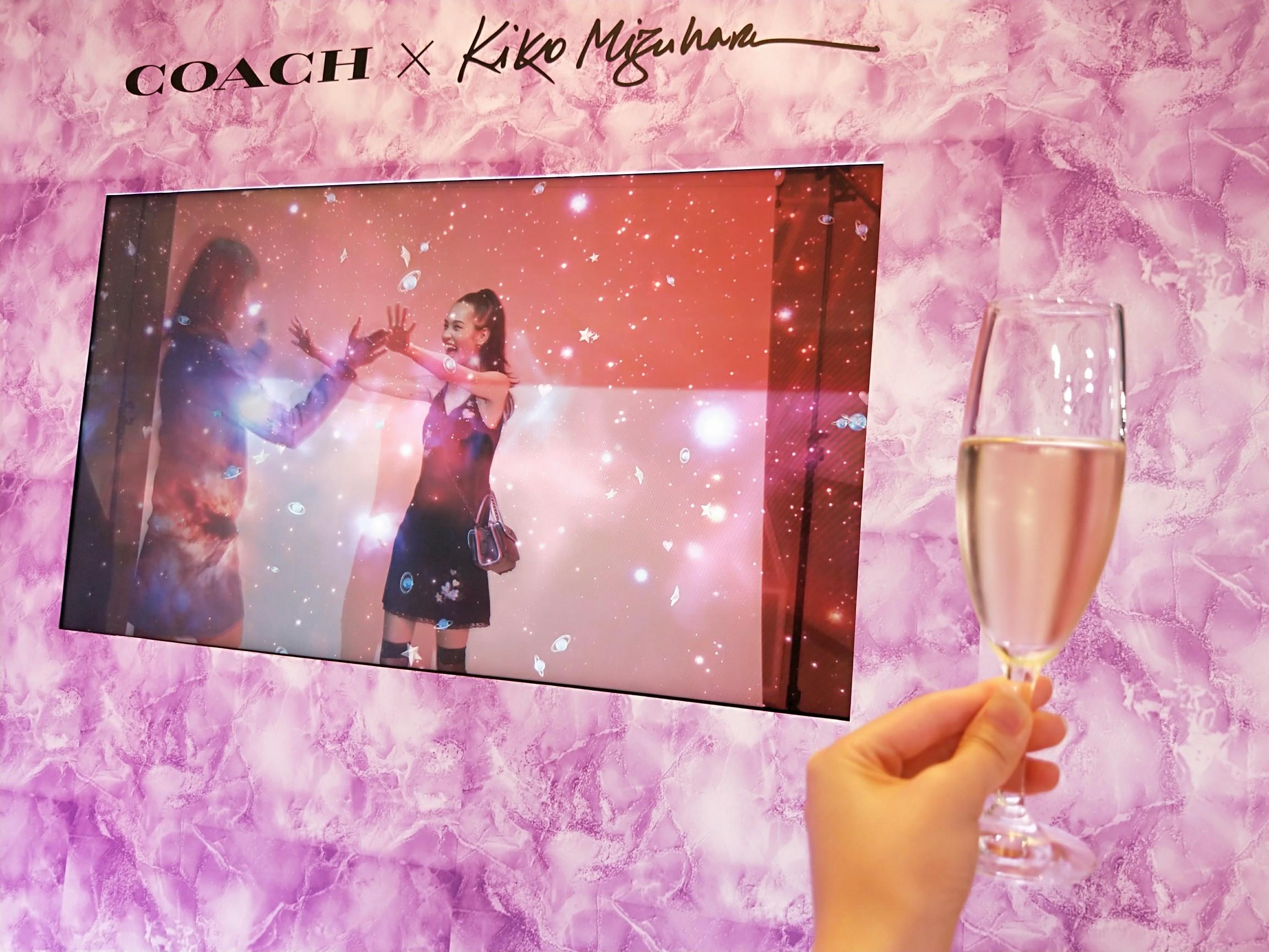 水原希子ちゃんがCoachとコラボ☆宇宙をモチーフにした新作コレクション「コーチ × キコ・ミズハラ」 #CoachxKiko _1