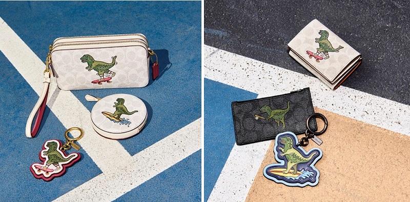 コーチの日本限定コレクション、Rexy Playのポーチや財布、チャームなど