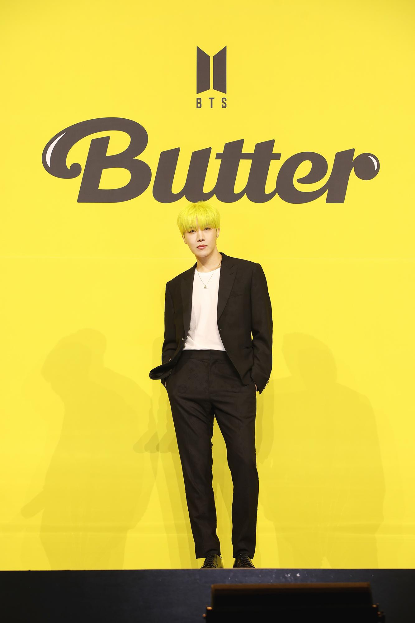"【BTS 会見写真16枚!】""お気に入りは自分のパート""合戦勃発!? 「Butter」発売記念 グローバル記者会見 PhotoGallery_1_3"