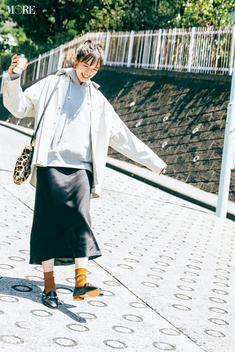オフの日は美術館へ♬ 佐藤栞里主演「全気温対応コーデ」着回し15日目_1