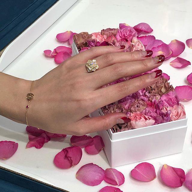 大人の心をとろけさすバラモチーフの美しさと可愛らしさは格別♡ ハイジュエラー『ピアジェ』の銀座店にお邪魔しました!_2
