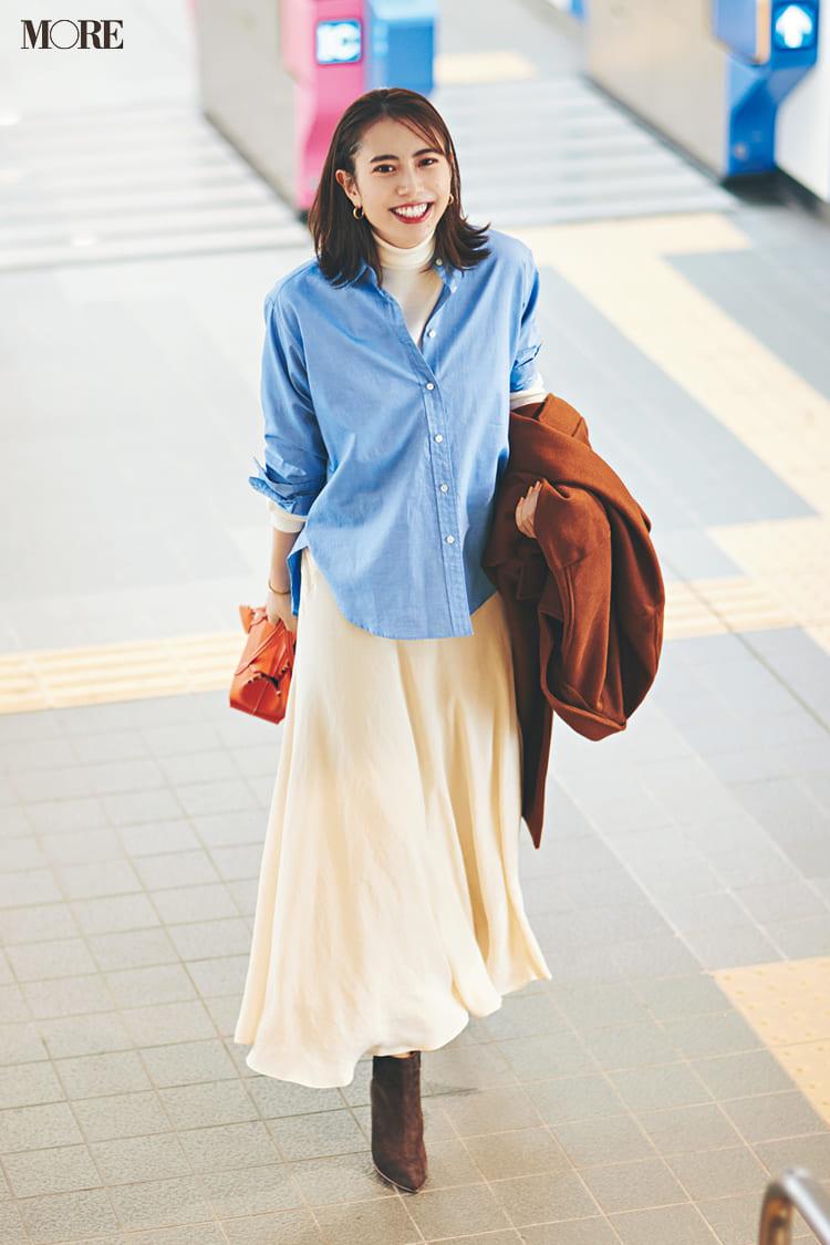 おしゃれなシャツコーデ特集 - 白シャツやシャツワンピースなどの最新レディースコーディネートまとめ   2020年版_32