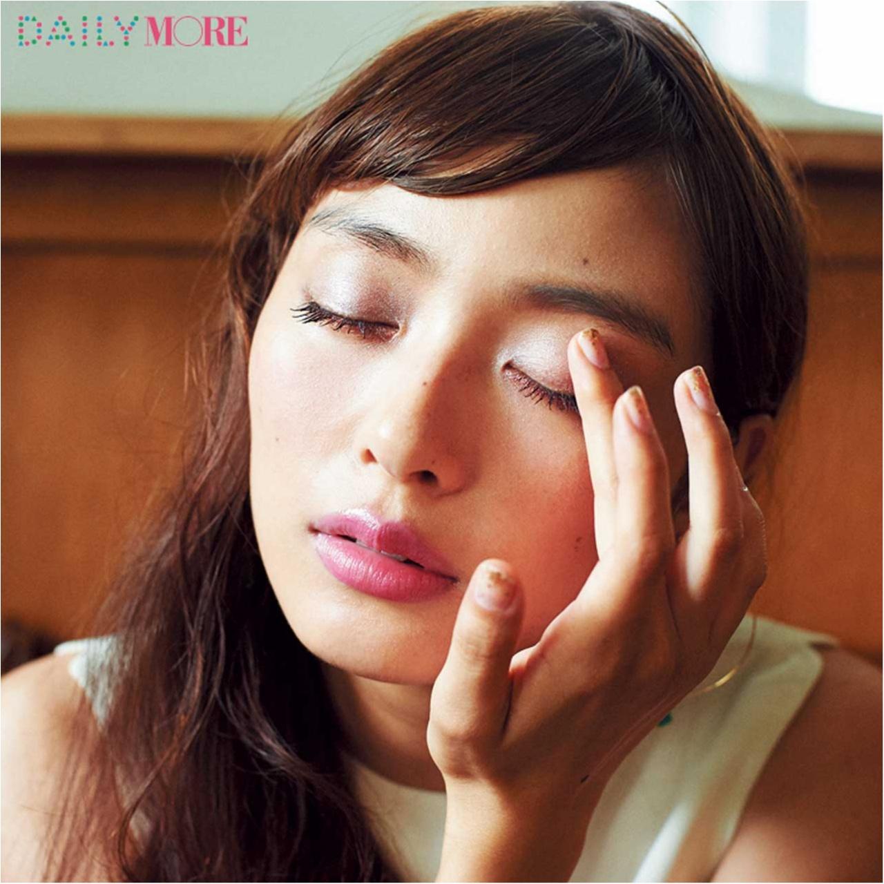 内田理央出演! イガリシノブさんの「彼と夜デートの日」は、うるうるセクシーな「寒色×暖色アイメイク」が効く♡_3