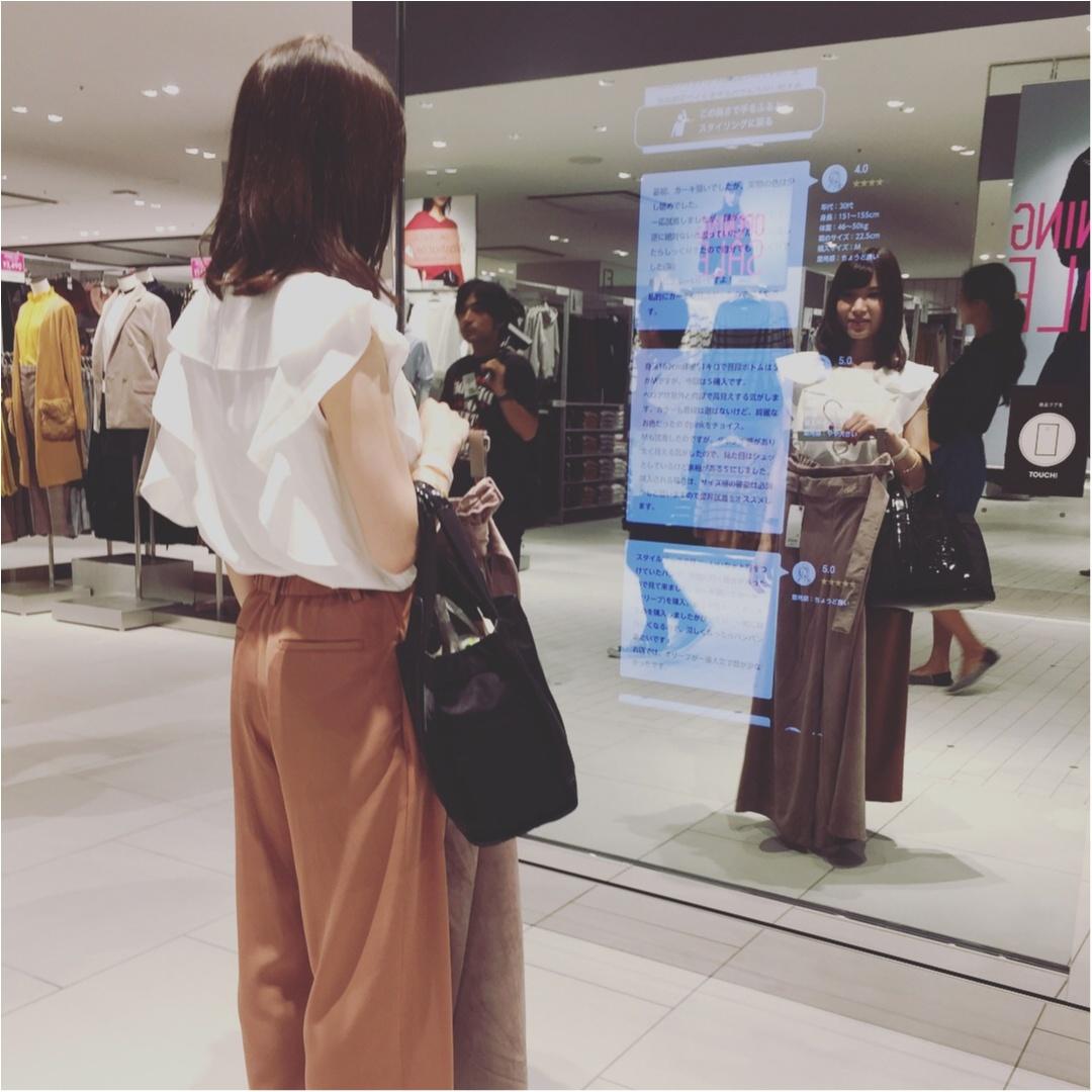♡本日9/15オープン、GU横浜港北ノースポート・モール店がすごい!!最先端ショッピングができちゃいます♡_4