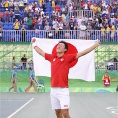 錦織圭選手96年ぶりのメダルに大歓声! バドミントンはいよいよメダル目指して決勝トーナメントです!