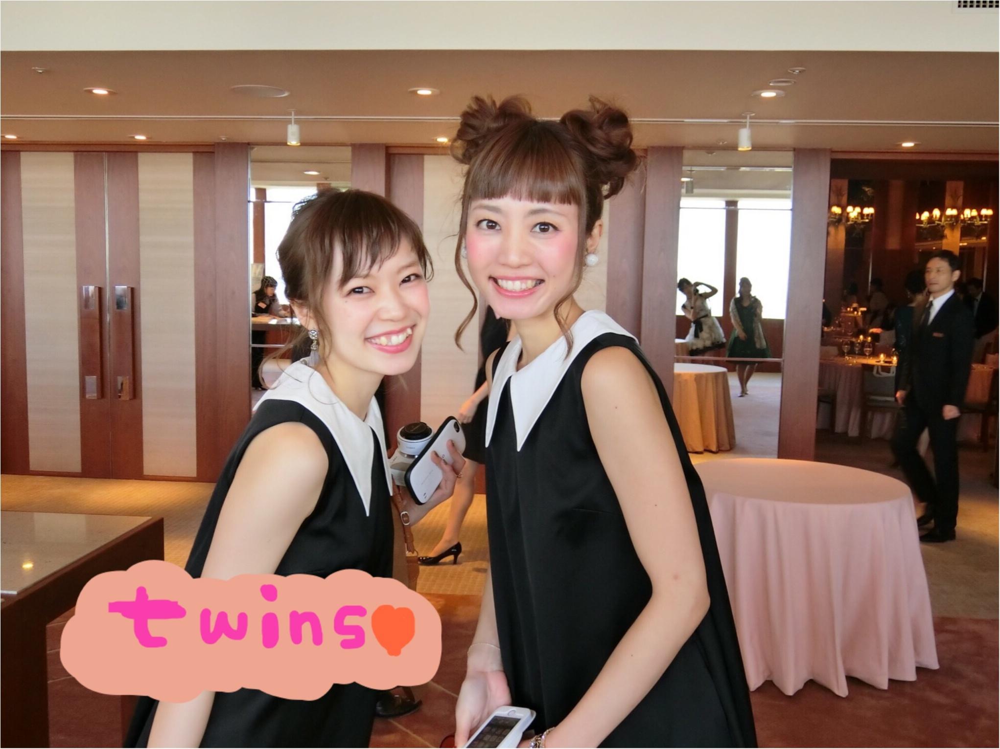 ★【MORE大女子会2017】今年は双子コーデで参加しちゃいました♥お相手はもちろん、、、^^_1