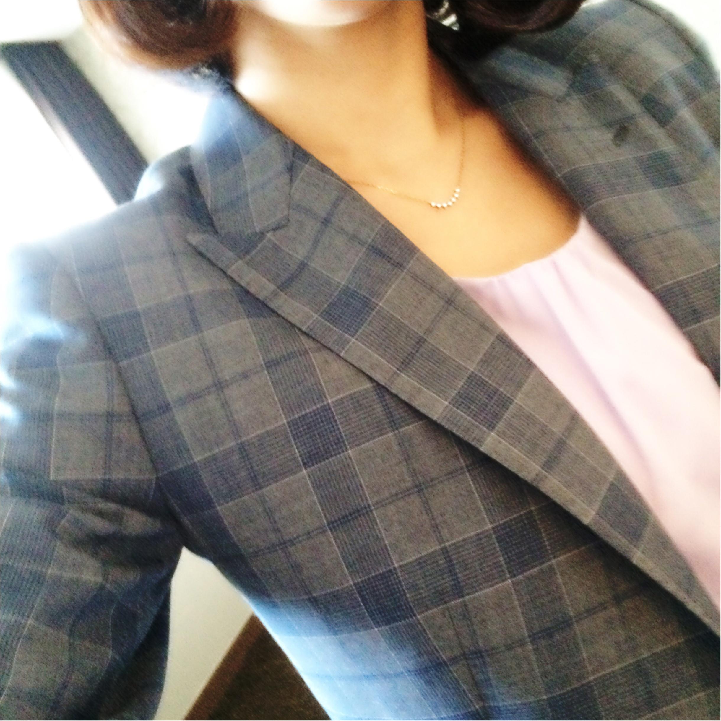 ★スーツでも柔らかい雰囲気に⁉︎淡色スーツコーデ★_2