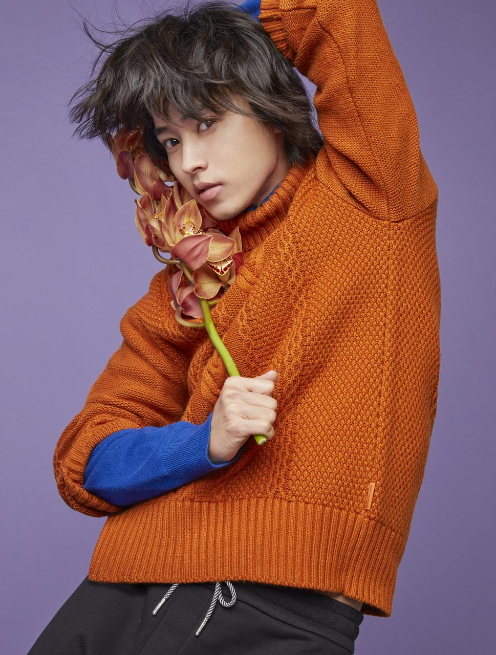 レスリー・キーが「Color of Dream」をテーマに撮影した山﨑賢人