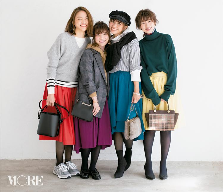 【読者変身】無難、甘すぎ、いつも同じ……きれい色スカートのお悩み、スタイリスト高野さんが解決します☆ 記事Photo Gallery_1_1