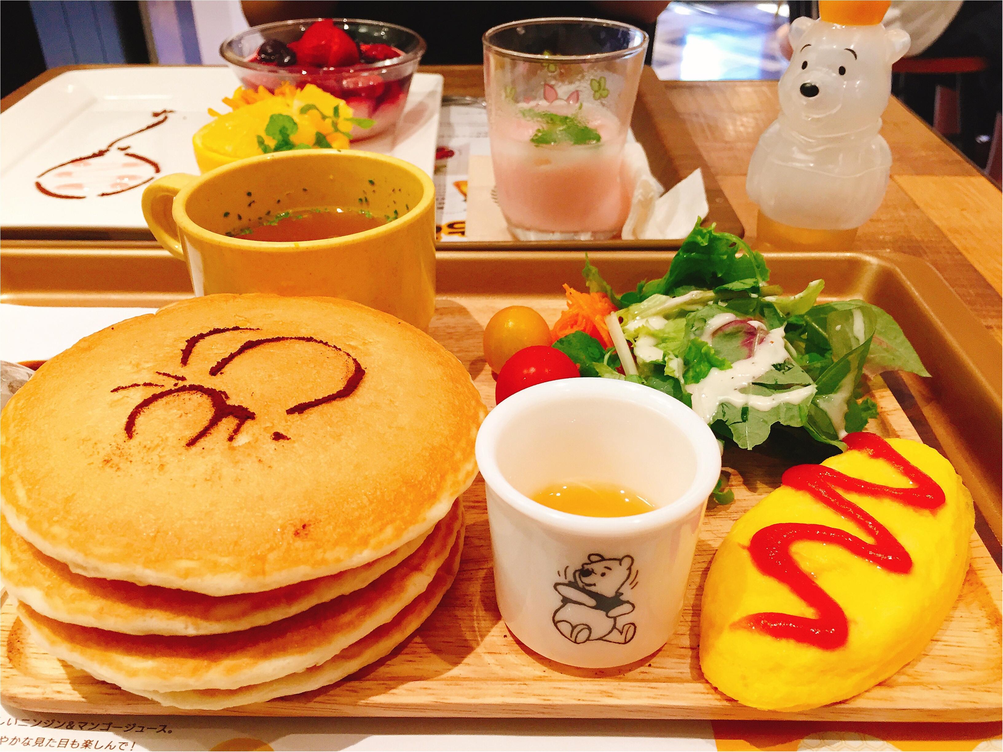 大人気!【期間限定】くまのプーさんとコラボした『はちみつカフェ』に行ってきましたレポ!!_3