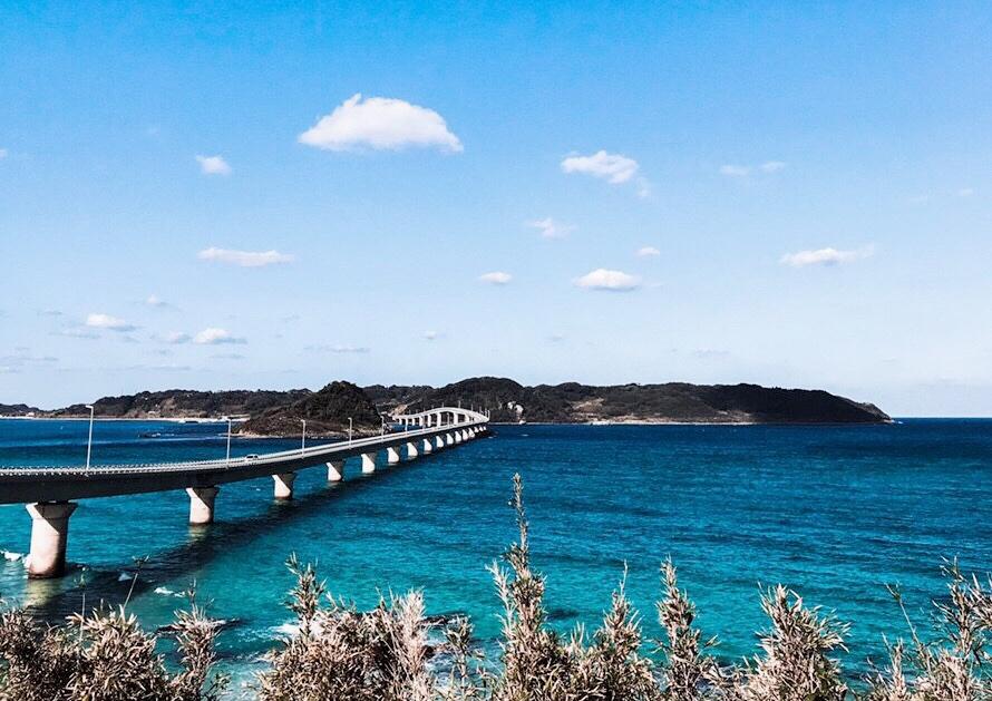 【ドライブデートにオススメ!】CMで話題になった日本一美しい橋・山口県「角島大橋」&インスタ映えスポット満載「瀬戸内のハワイ・周防大島」に行ってきました!_1