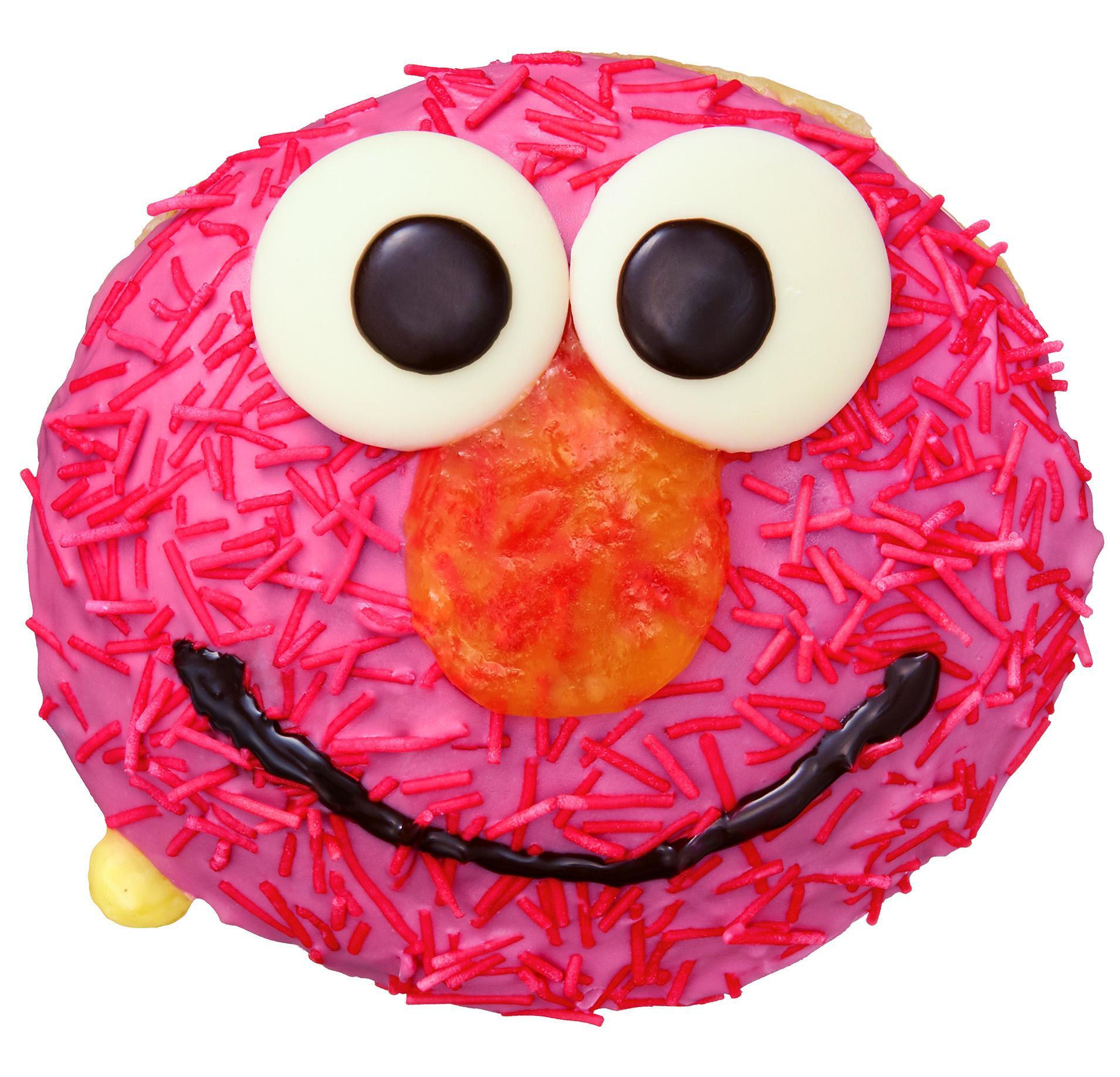 エルモやクッキーモンスターがドーナツに!!  『クリスピー・クリーム・ドーナツ』と『セサミストリート』の限定コラボ登場☆_2