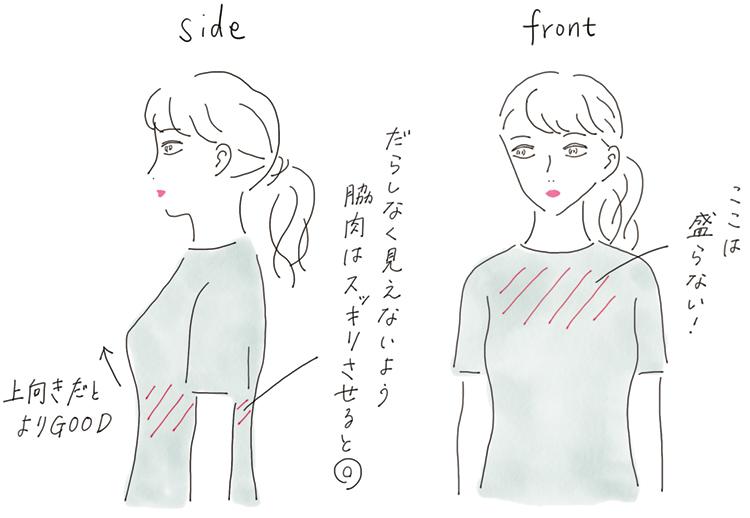 """内田理央が魅せる。今年のブラは""""服をキレイに見せる""""かどうかで選びましょう♡ 記事Photo Gallery_1_2"""