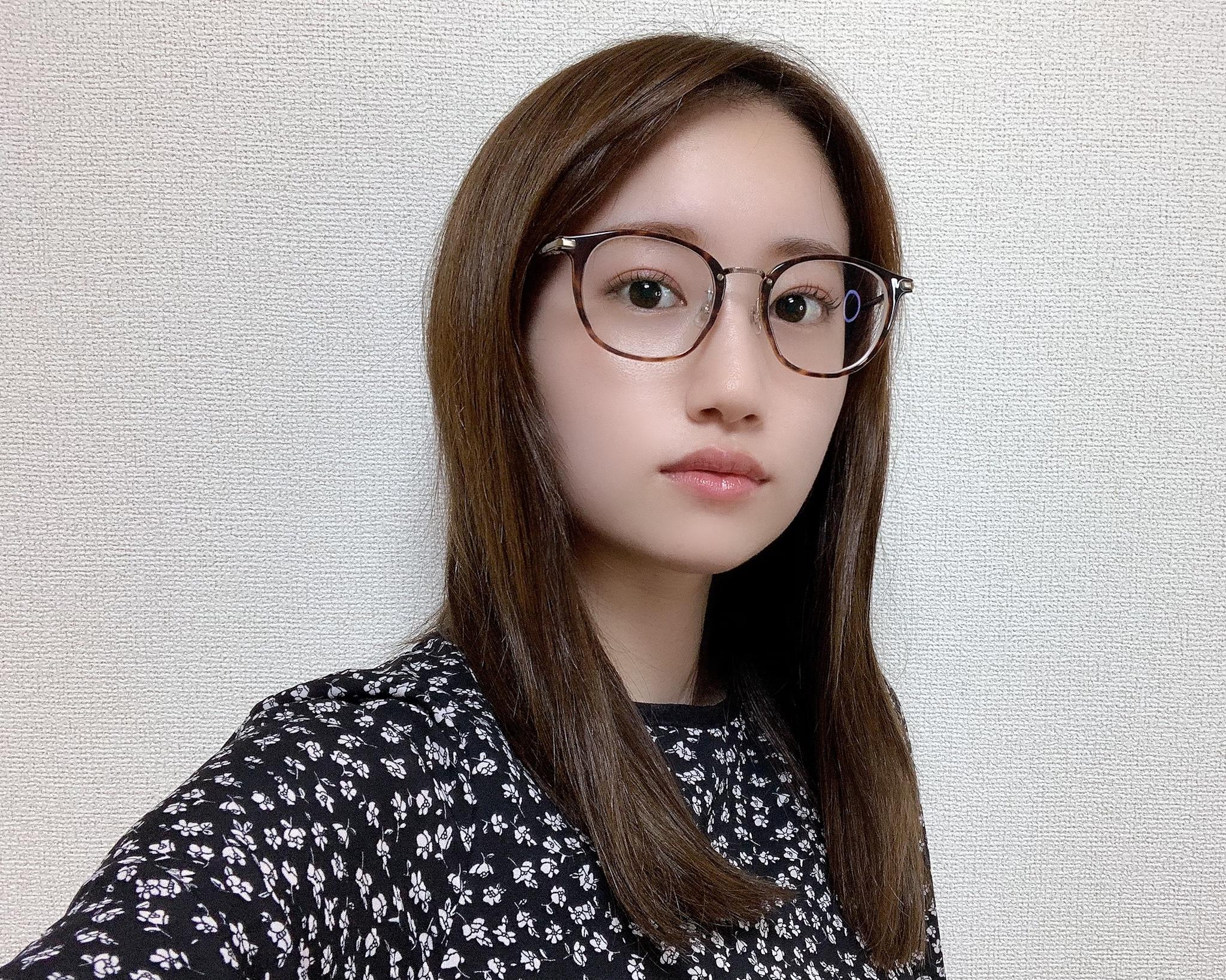 【メガネ主体のメイクが可愛い】JINS×イガリシノブのメーキャップメガネ_5