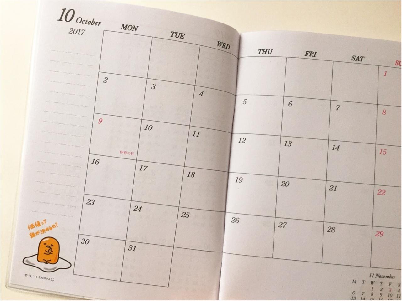 2018年のスケジュール帳はどうする?【ダイソー】のスケジュール帳グッズが種類豊富で可愛くて実用的でとにかくすごい!!_3