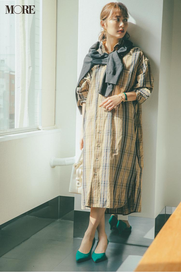 ベージュコーデ特集(20代後半女子向け)- 春におすすめのワンピースやスカート、靴などのコーディネートまとめ_4