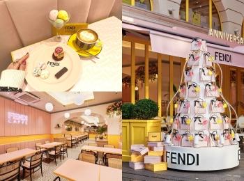 『フェンディ』のカフェ「FENDI CAFFE by ANNIVERSAIRE」が表参道に期間限定でオープン中!