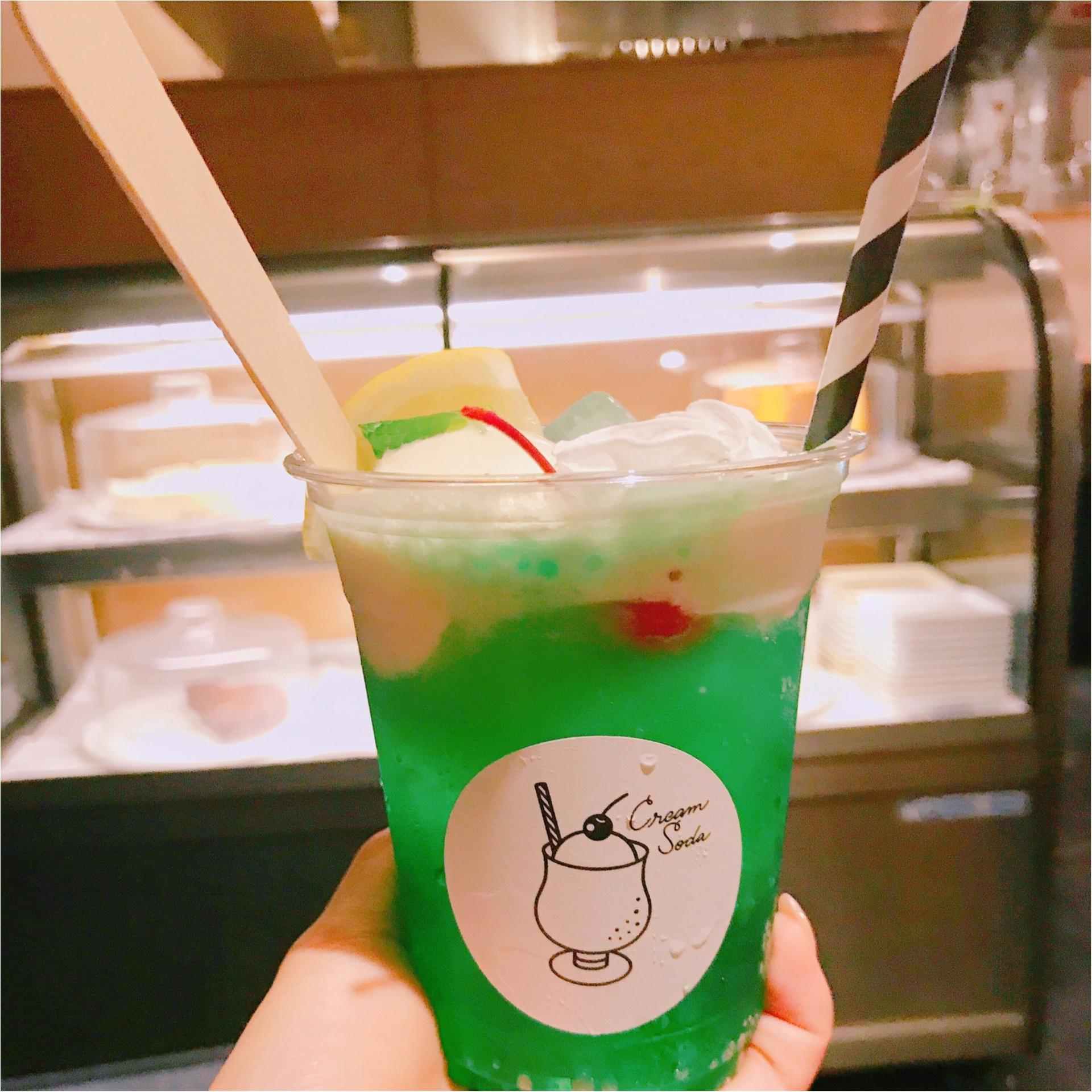 ★流行のクリームソーダ♪名古屋で飲むなら、まずココへ行くべし!★_1