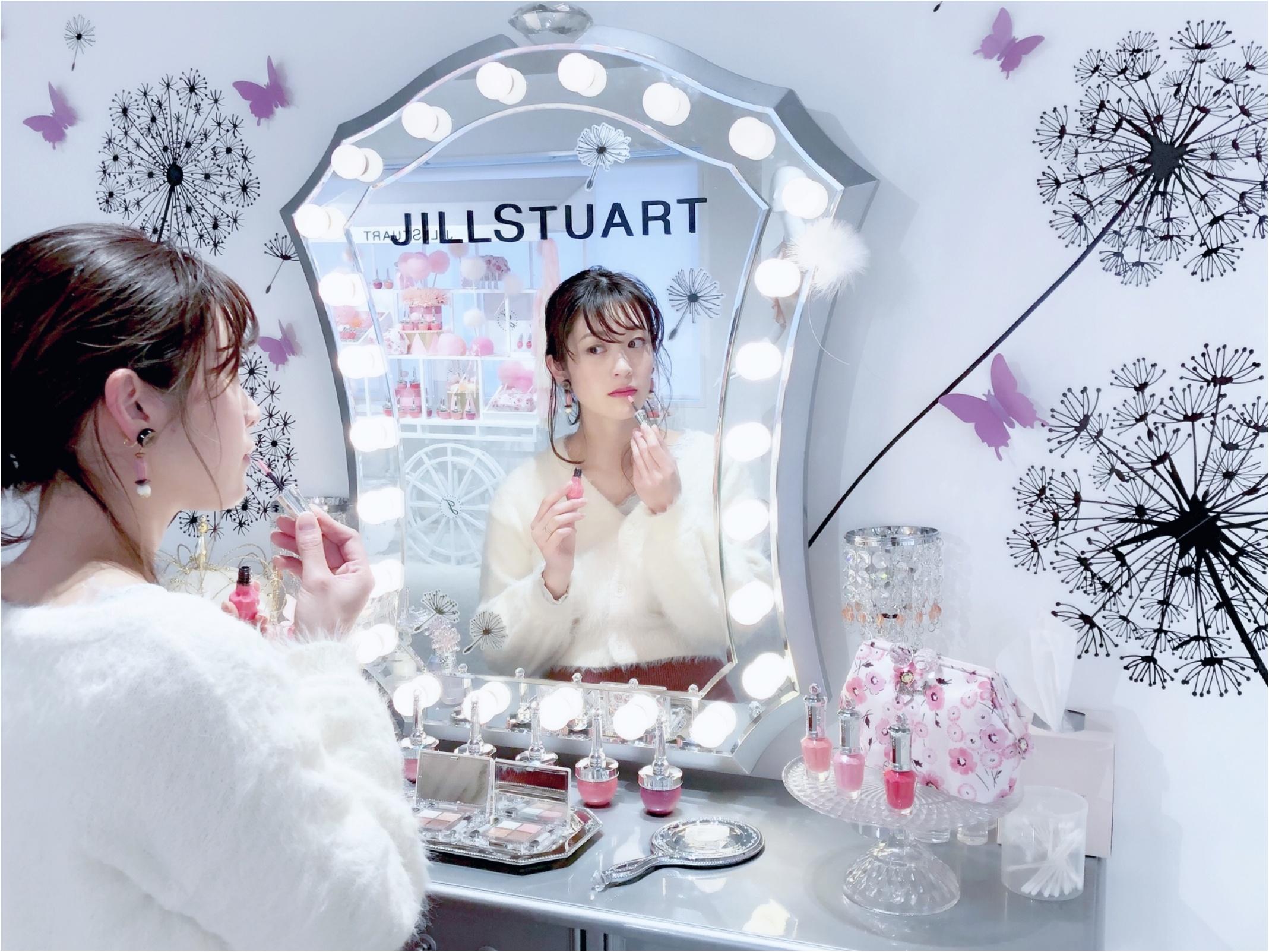【jillstuart beauty】ジルの世界を満喫!新作コスメも試せるフォトジェニックスポットに行ってきました❤️_9