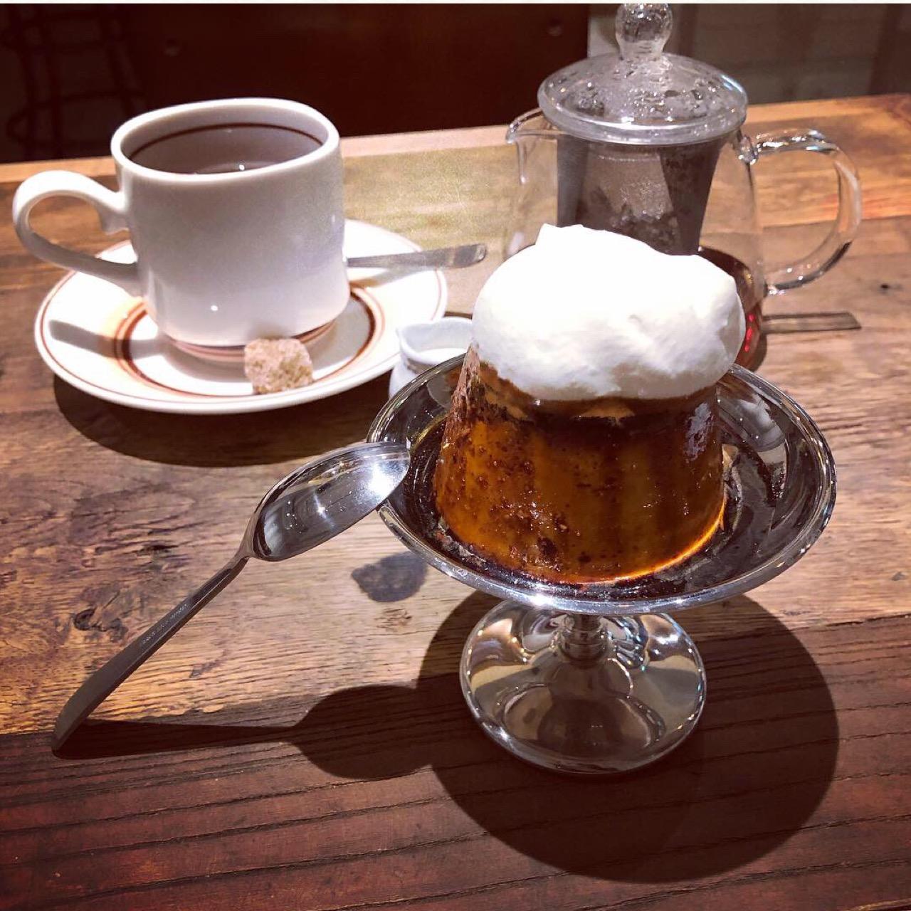 麹町の小さなカフェで食べられる♡レトロなビジュアルがオシャレでおいしいプリン!_4