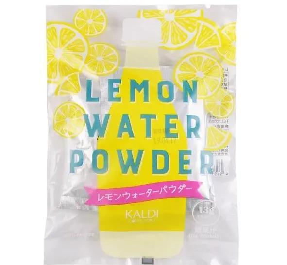 《カルディ》おすすめのレモンドリンク2.「オリジナル レモンウォーターパウダー」