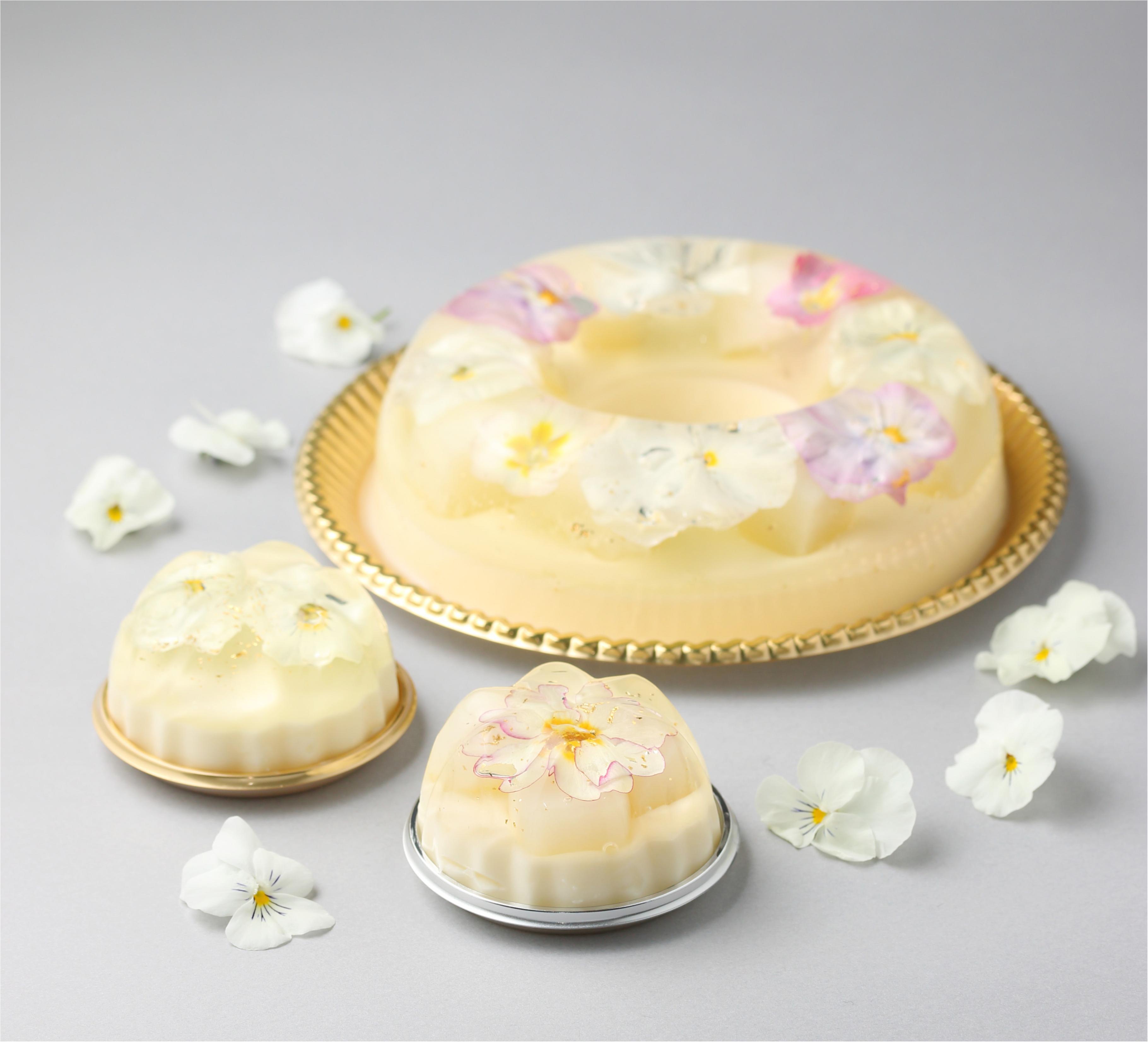 今週末限定! 『白澄カフェ』で花のババロアをいただきま〜す♡_1