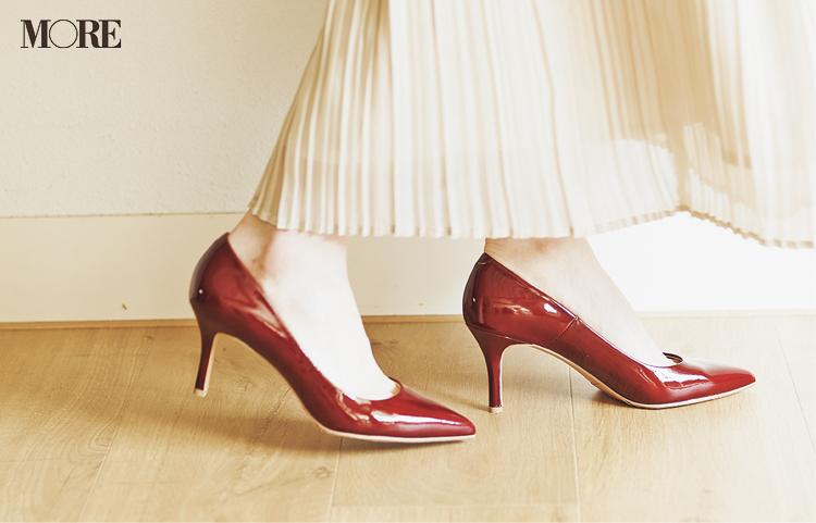 """新しく買わなくってもいいじゃん♡ ベージュのプリーツスカートは""""3足の靴""""で新鮮さがよみがえる!_6"""