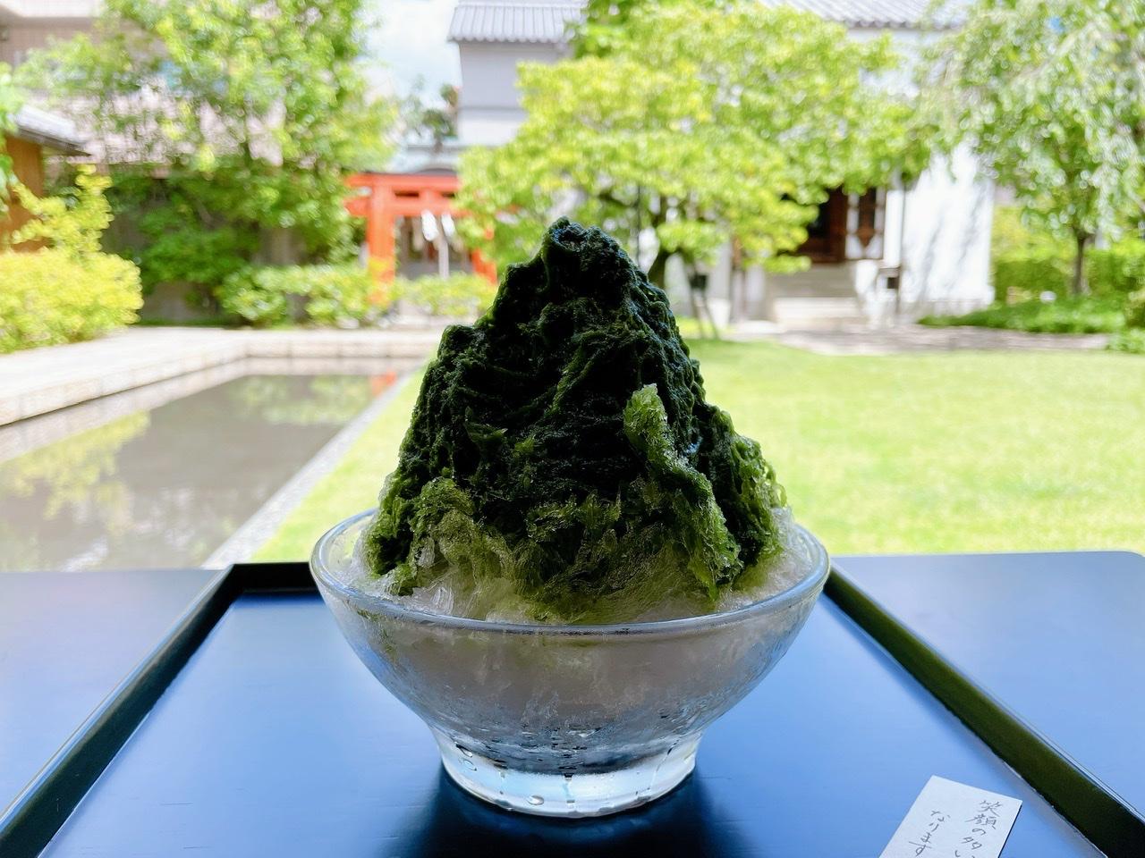 【京都】庭園を眺めながら涼む《虎屋菓寮》_2