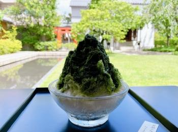 【京都】庭園を眺めながら涼む《虎屋菓寮》