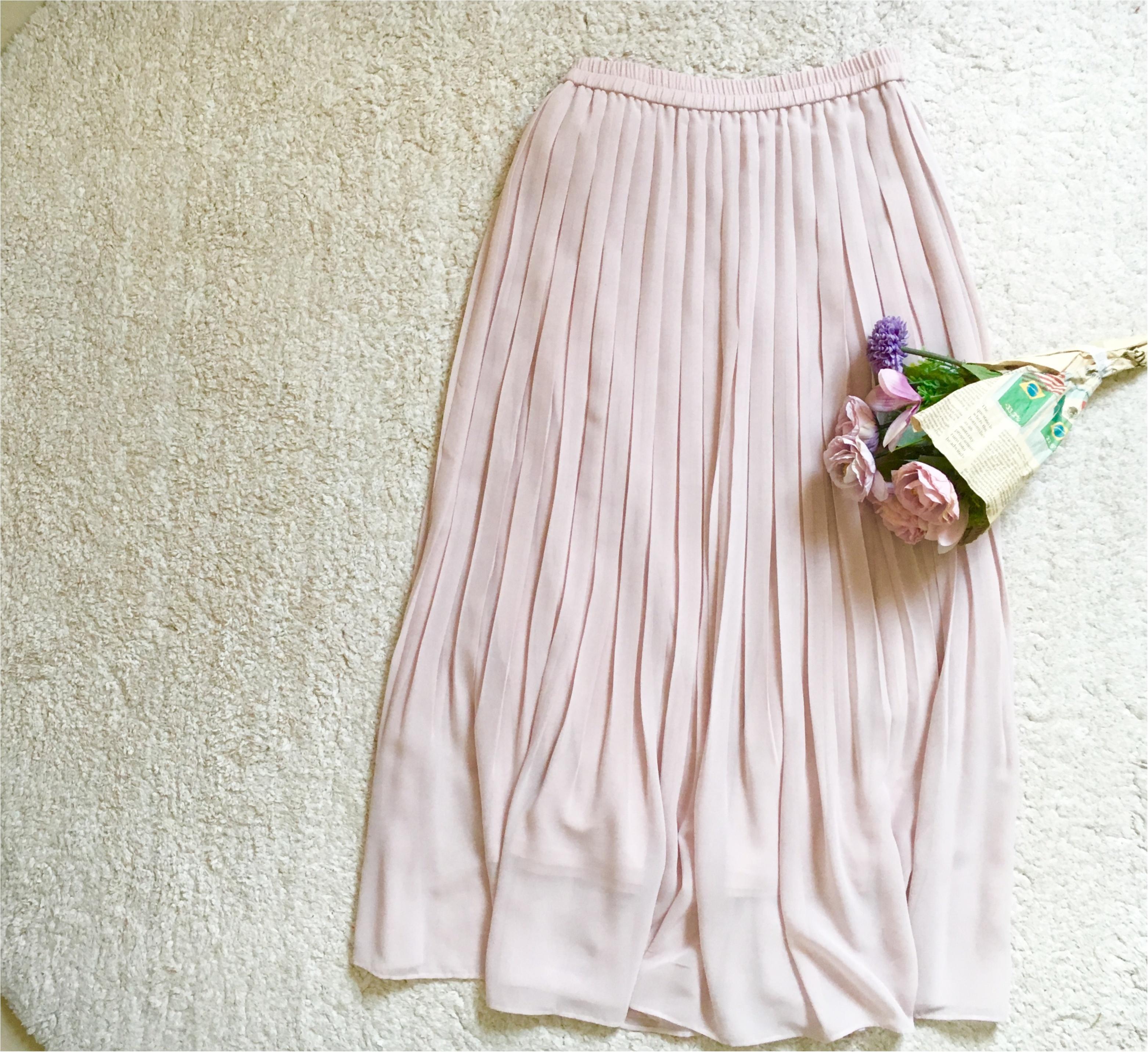【ユニクロ】揺れ感が可愛すぎる❤️待ちに待った《春色スカート》は買うなら今がオススメ!_2